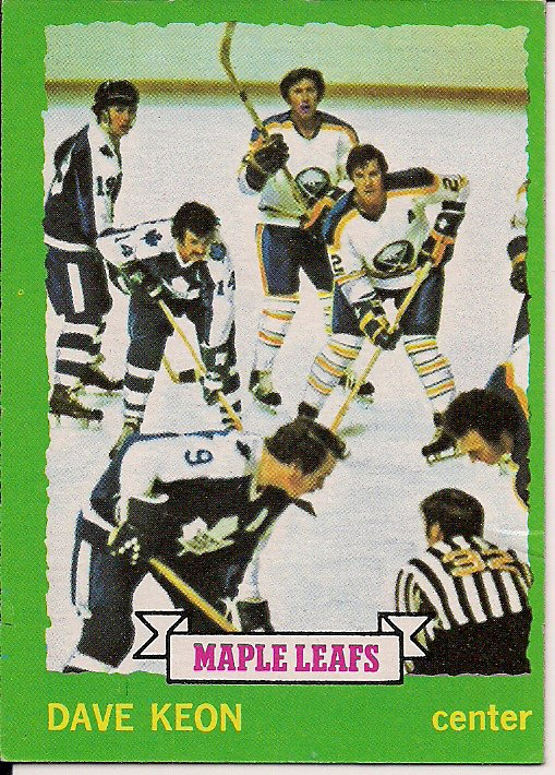 dave keon o-pee-chee #150 norm ullman, paul henderson, tim horton