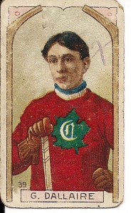 hector dallaire 1911-12 imperial tobacco c55 hockey card montreal canadiens 39