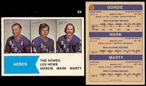 Family Portrait: The Howes 1974-75 O-Pee-Chee Hockey Card