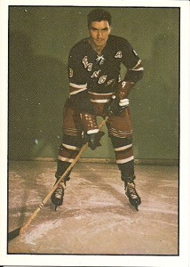 andy bathgate new york rangers 1981-82 tcma hockey card