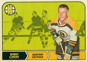 1968-69 o-pee-chee hockey card bobby orr boston bruins