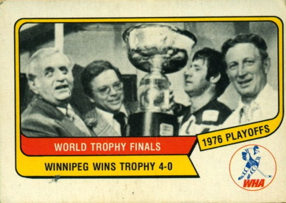 1976-77 o-pee-chee wha 132 world avco trophy finals