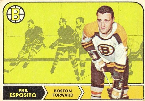The Hockey Cards of the 1968-69 NHL's Top Ten Scorers