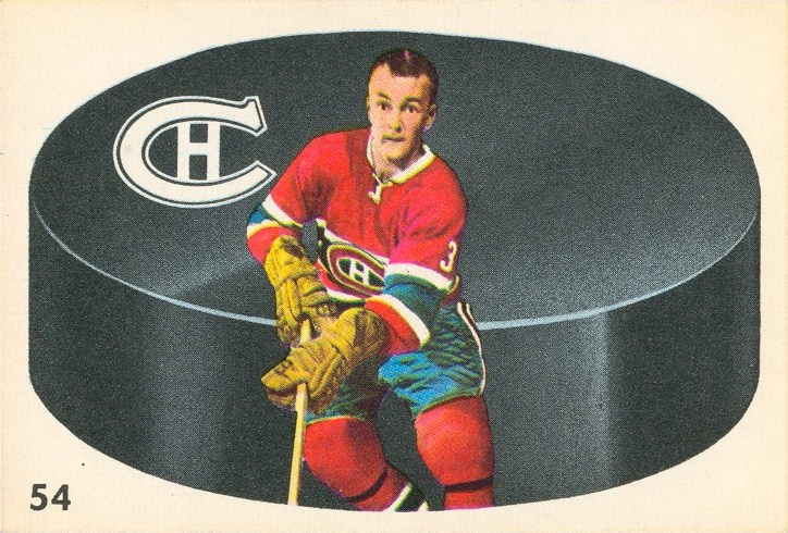 j.c.. tremblay 1962-63 parkhurst rookie card montreal canadiens
