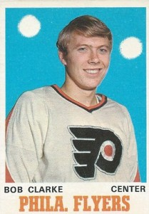 bobby clarke rookie hockey card 1970-71 o-pee-chee