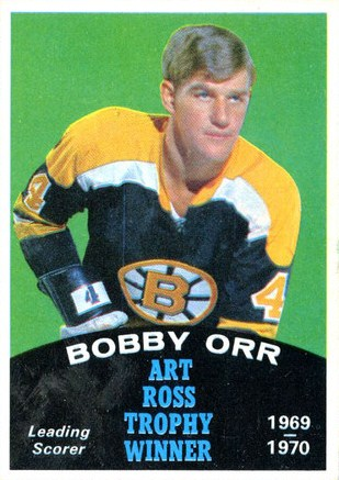 1970-71 o-pee-chee 3 bobby orr boston bruins