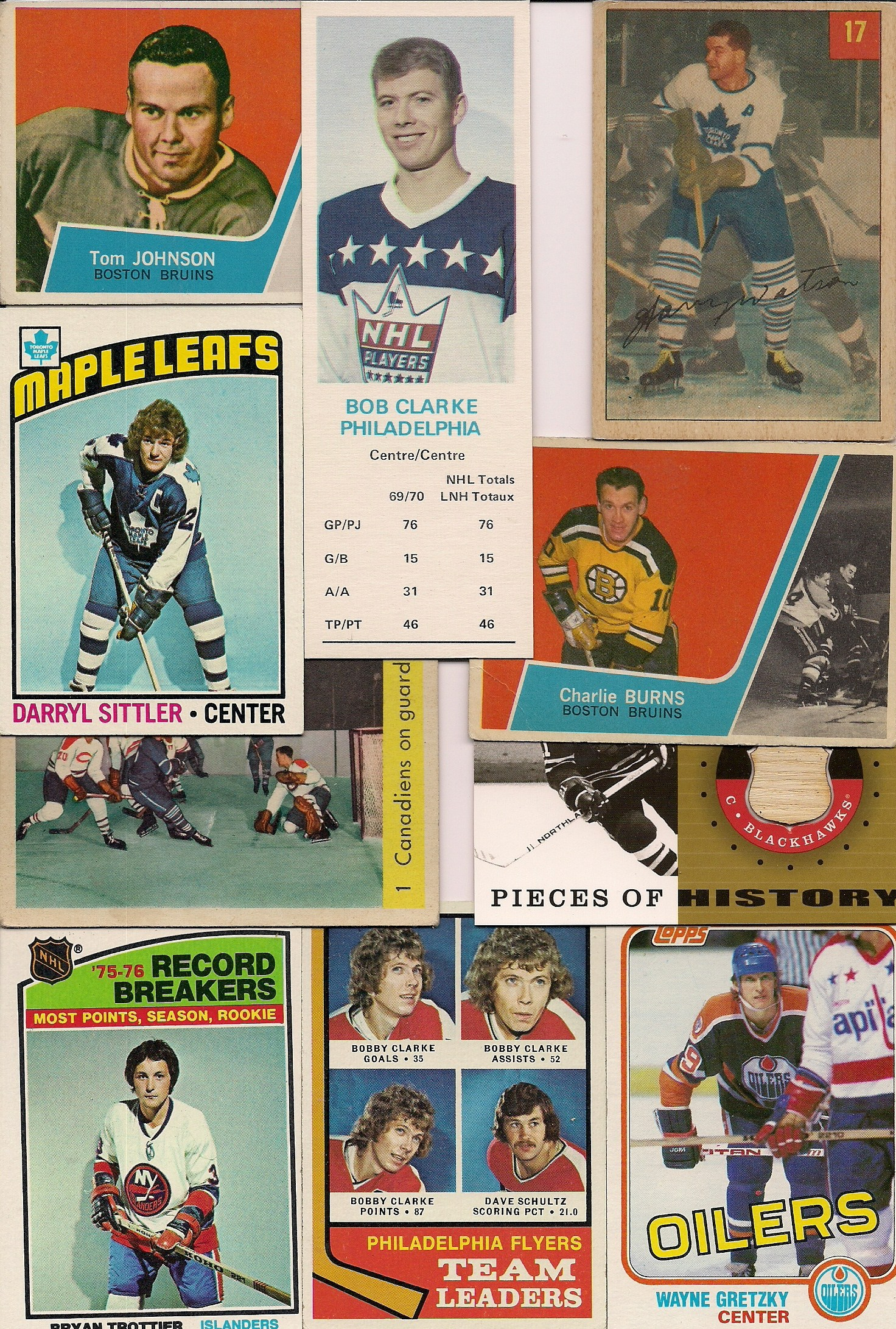 ebay hockey card auction