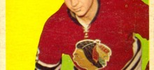 kenny wharram rookie card 1958-59 topps chicago blackhawks