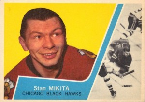 stan mikita 1963-64 topps chicago blackhawks