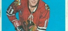bill hay chicago blackhawks 1965-66 nhl hockey card
