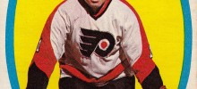doug favell philadelphia flyers 1971-72 o-pee-chee hockey card