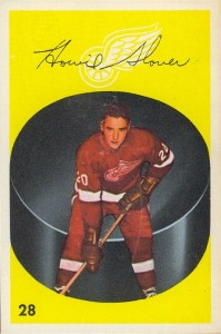 howie glover 1962-63 parkhurst detroit red wings