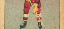 sid abel detroit red wings 1951-52 parkhurst rookie card