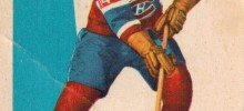claude provost montreal canadiens 1959-60 parkhurst nhl hockey card