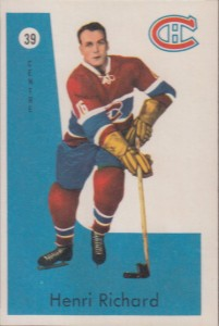 henri richard montreal canadiens 1959-60 parkhurst hockey card