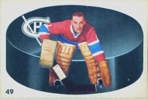 jacques plante montreal canadiens 1962-63 parkhurst hockey card
