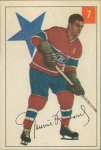 maurice richard montreal canadiens 1954-55 parkhurst 7