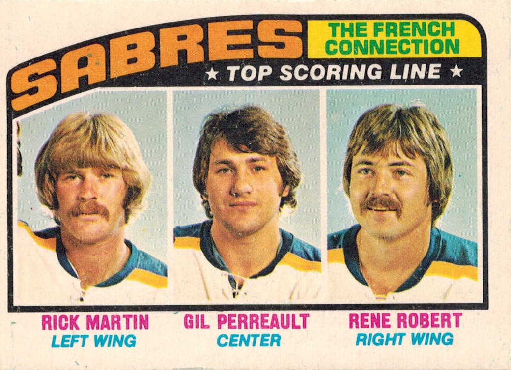 The French Connection Of The Buffalo Sabres - 1976-77 O ...