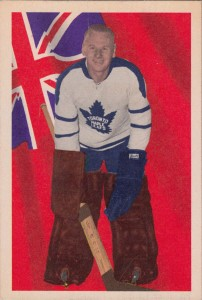 johnny bower 1963-64 parkhurst toronto maple leafs