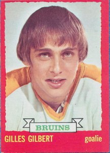 gilles gilbert boston bruins 1973-74 o-pee-chee rookie card
