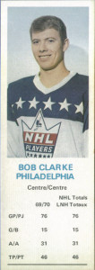 bob clarke philadelphia flyers 1970-71 dads cookies hocke card
