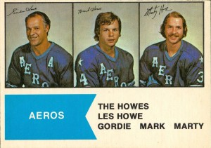 the howes houston aeros 1974-75 o-pee-chee wha