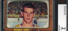 bobby orr 1966-67 topps beckett graded