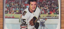 eric nesterenko chicago blackhawks 1966-67 topps nhl hockey card