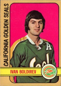 ivan boldirev california golden seals 1972-73 o-pee-chee nhl rookie hockey card