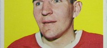 john ferguson montreal canadiens 1965-66 topps nhl hockey card