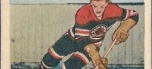 gus bodnar chicago blackhawks 1952-53 parkhurst nhl hockey card