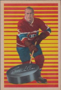 terry harper montreal canadiens 1963-64 parkhurst rookie hockey card