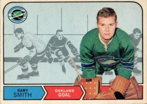 gary smith 1968-69 o-pee-chee nhl rookie hockey card