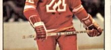 tom lysiak atlanta flames 1977-78 nhl hockey card