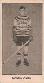 larry aurie detroit red wings 1933-34 v129 nhl hockey card