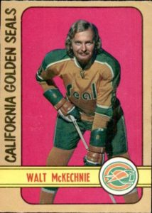 walt mckechnie california golden seals 1972-73 o-pee-chee nhl hockey card