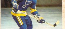 bernie federko st. louis blues 1978-79 o-pee-chee nhl rookie hockey card