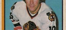 dale tallon chicago blackhawks 1974-75 o-pee-chee nhl hockey card