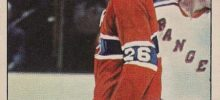 pierre bouchard montreal canadiens 1975-76 o-pee-chee nhl hockey card