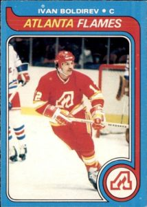 ivan boldirev atlanta flames 1979-80 o-pee-chee nhl hockey card