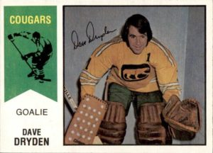 dave dryden chicago cougars 1974-75 o-pee-chee wha hockey card