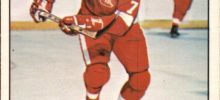 dan maloney detroit red wings 1977-78 o-pee-chee nhl hockey card
