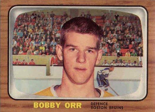 Bobby Orr Rookie Card 1966 67 Topps 35