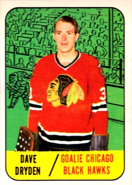 Ken Dryden 1971 72 O Pee Chee Rookie Card