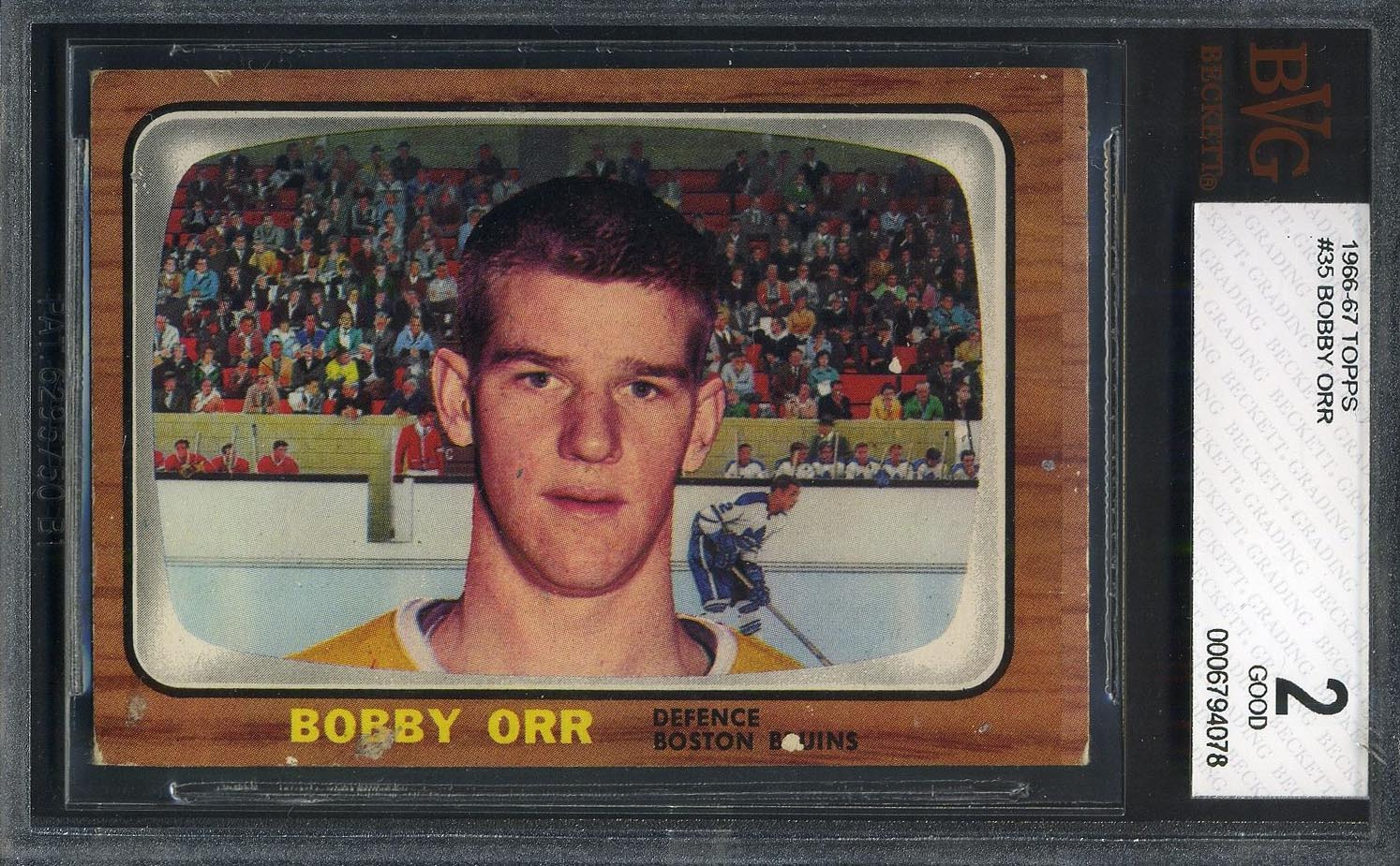 Where Can You Get Vintage Hockey Cards Graded