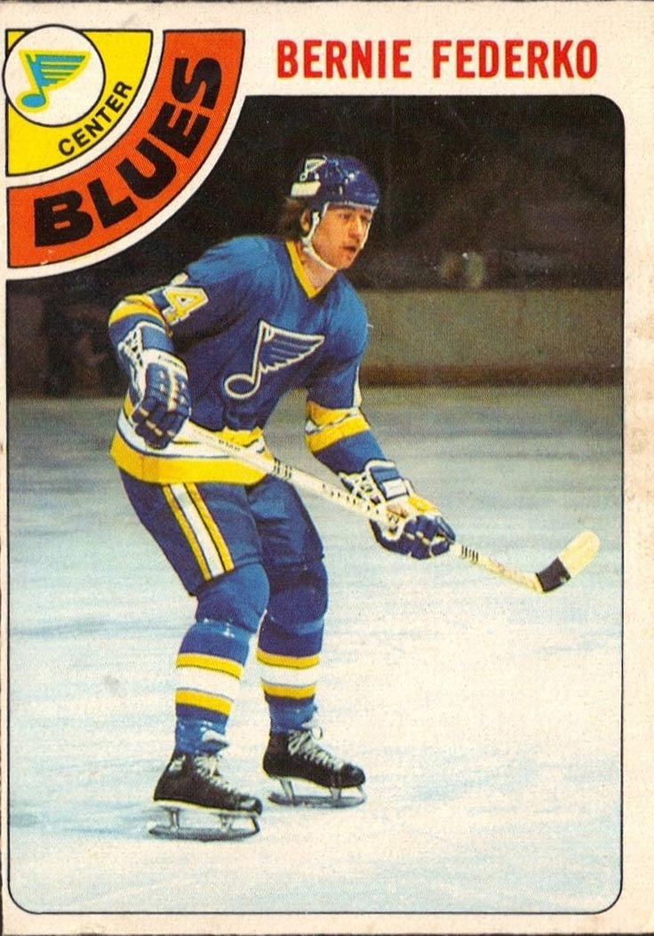 Bernie Federko: 2 #'s Retired (24 by NHL Blues and 15 by ...